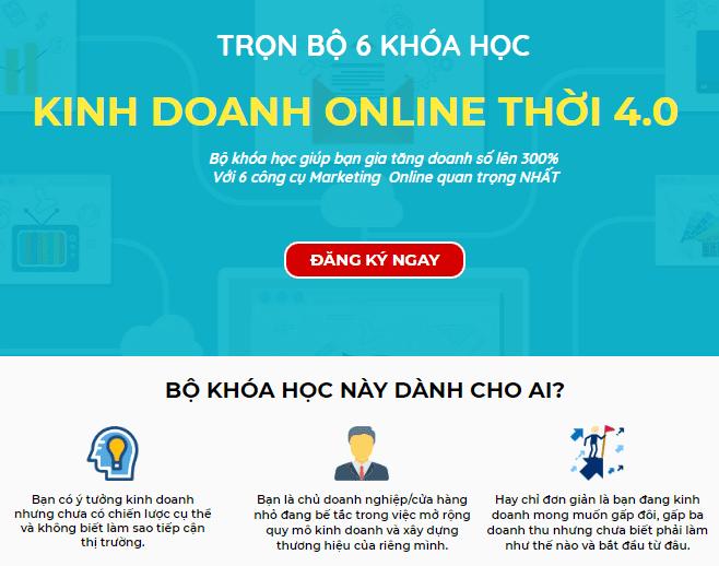 Giảm 89% KINH DOANH ONLINE THỜI 4.0