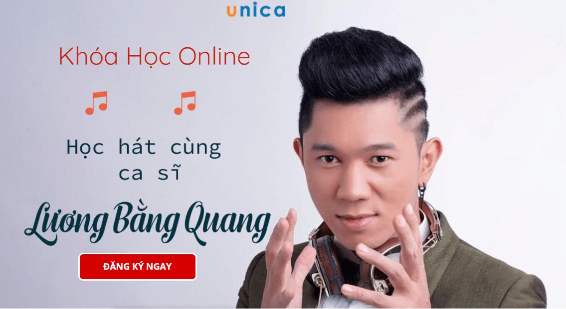 Giảm 50% học hát cùng Lương Bằng Quang